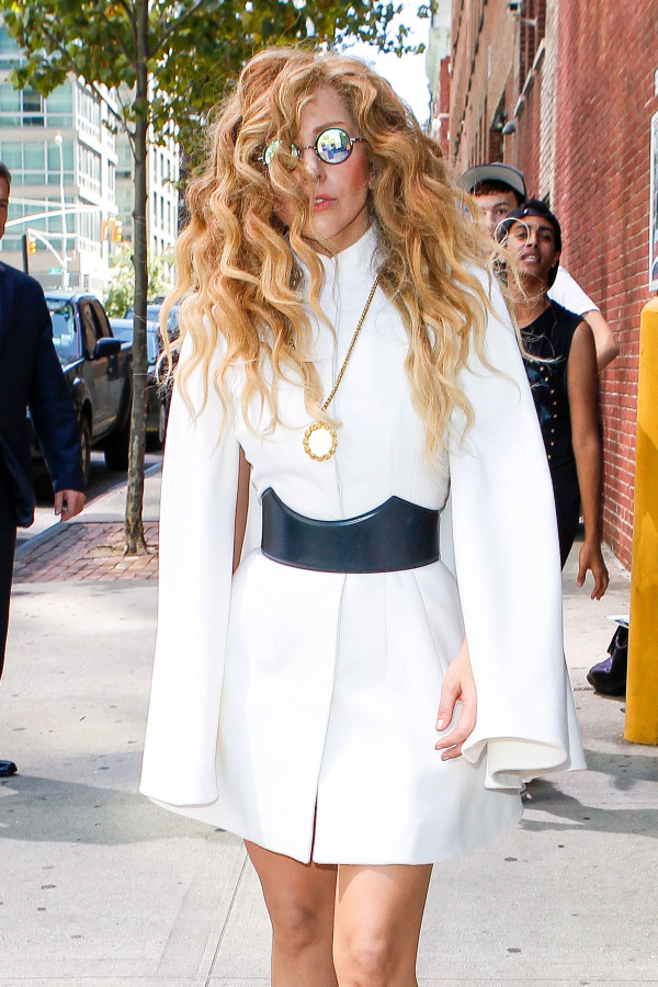 Lady Gaga is a Modern Pilgrim in NYC - Part 2